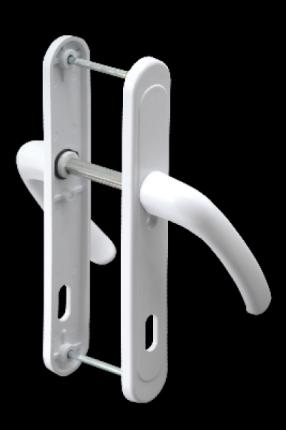AKP039-Plastik Oda Kapı Kolu (Demirli)