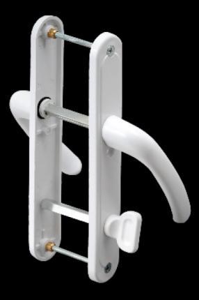 AKP041-Plastik Barelsiz Kapı Kolu Demirli (Balkon)
