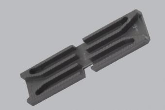 AKP019-Kalın Cam Takozu Bükülen (5mm*20mm*80mm)
