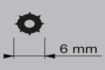 AKP-F-43 Sineklik Fitili 6 mm