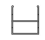 1011-Aluminium Sash Profile